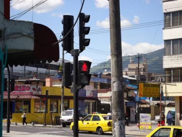 Vanguard a la ciutat de Quito (Ecuador)