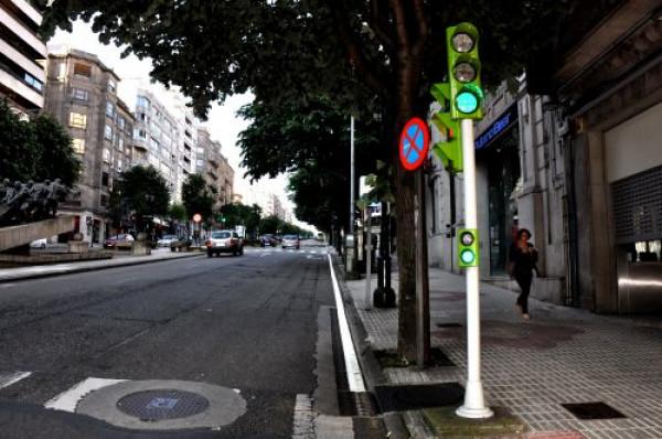 Vanguard en la ciudad de Vigo (Galicia)
