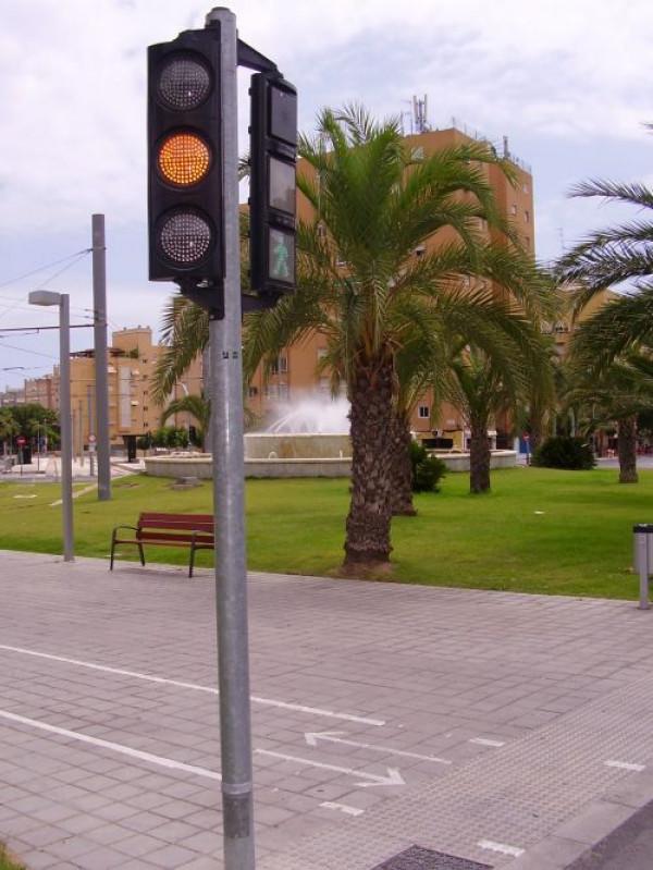 Vanguard in the city of Alicante (Valencia)